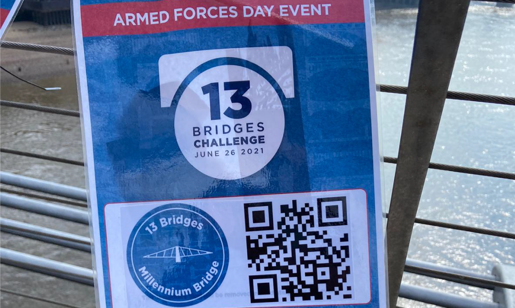 13 Bridges Challenge QR codes