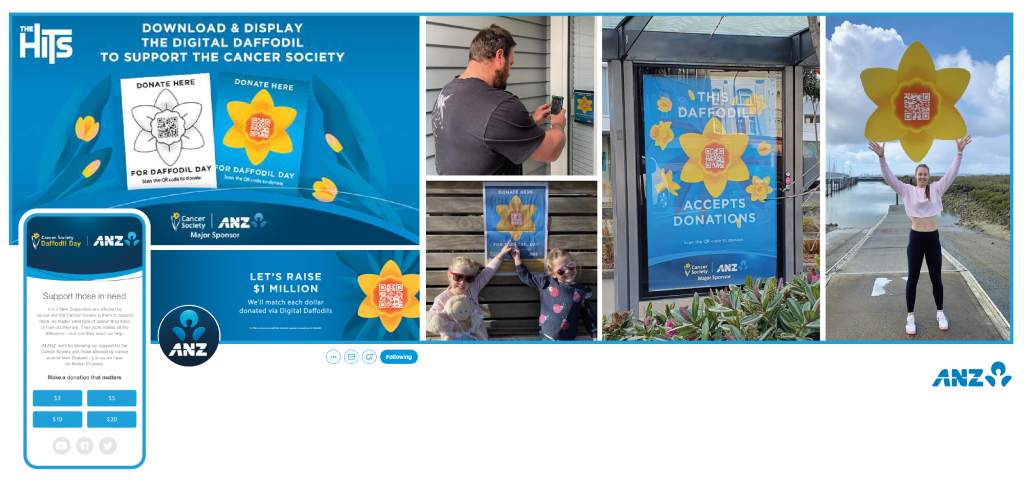 ANZ charity engage community in 2020 touchfree