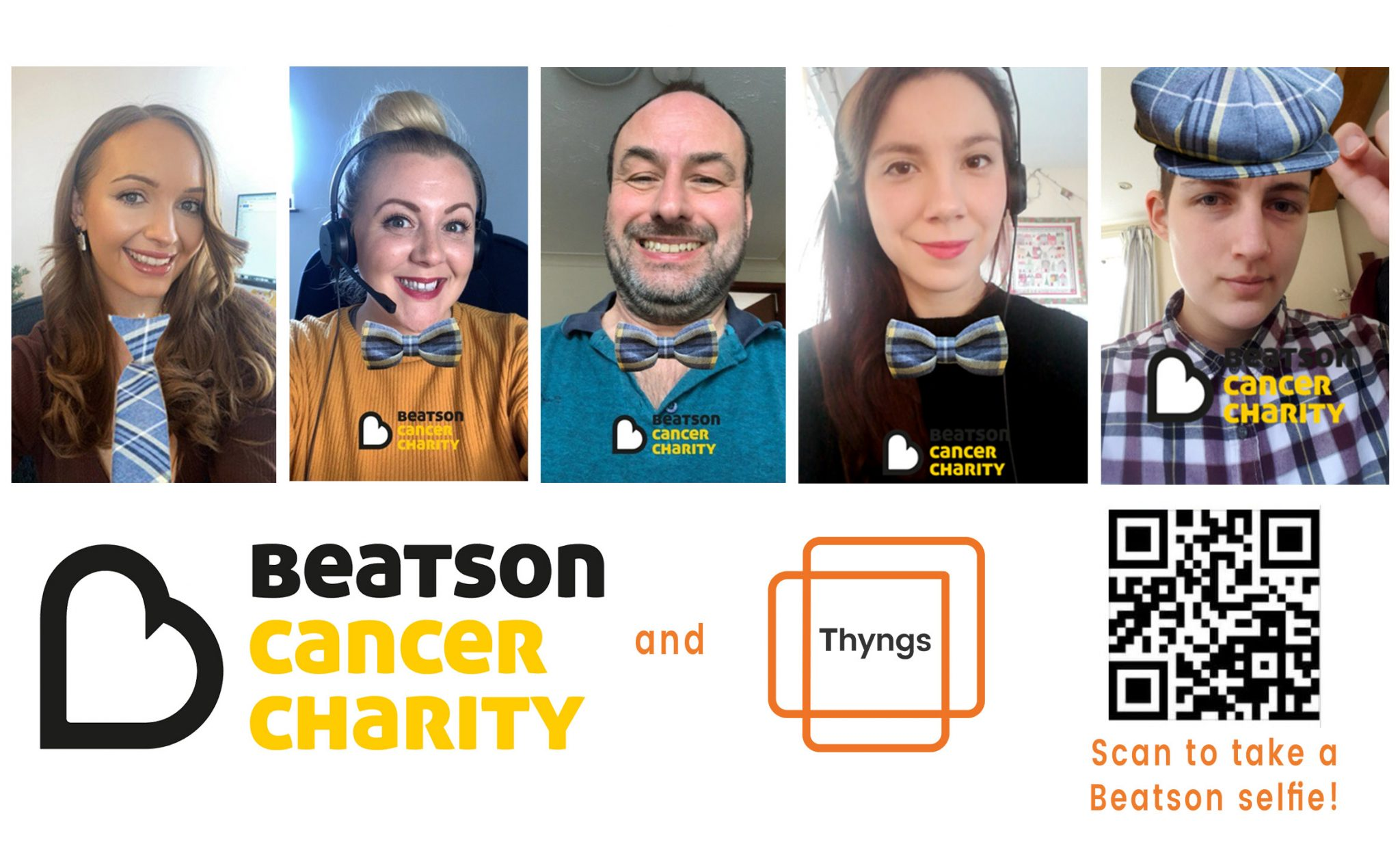 Beatson Cancer Charity Selfie Experience